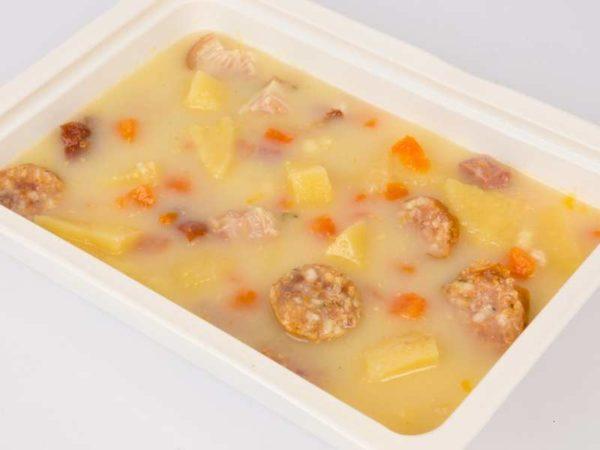 Ciorba de cartofi a la Kassai