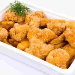 Conopida in pane de susan cartofi wedges