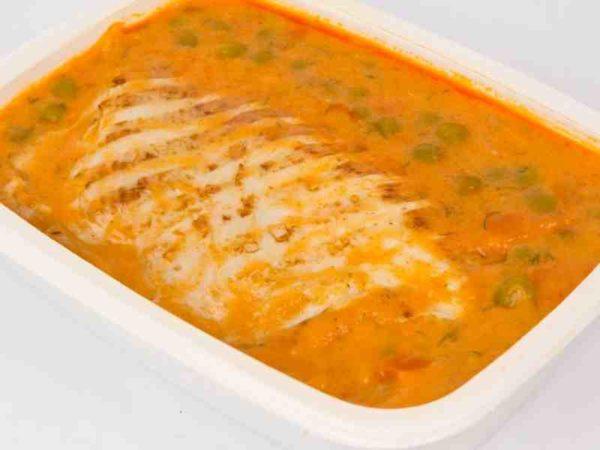 Dietetic Mancare de mazare cu morcovi piept de curcan grill