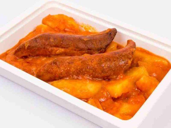 Papricas unguresc cu carnati afumati de casa