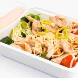 Salata Cezar cu piept de pui prajit