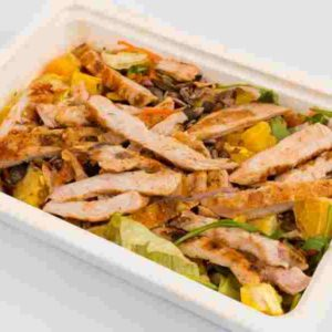 Salata Zumba piept de pui la gratar