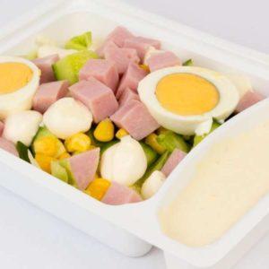 Salata italiana cu sunca sos tartar