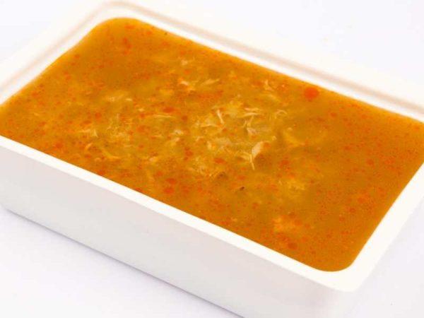 Supa de chimen cu zdrente de oua M