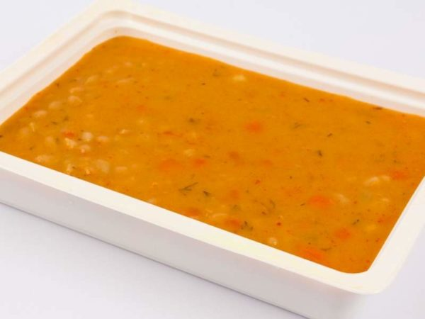 Supa de fasole boabe uscata cu smantana