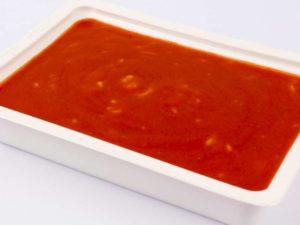 Supa de rosii cu paste ABC
