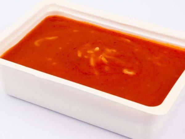 Supa de rosii cu paste ABC M