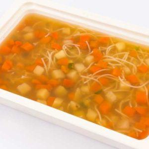 Supa limpede de vacuta cu fidea de casa