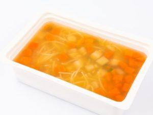 Supa limpede de vacuta cu fidea de casa M
