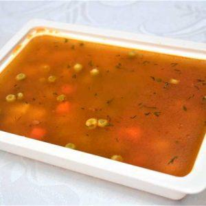 Supa mazare verde