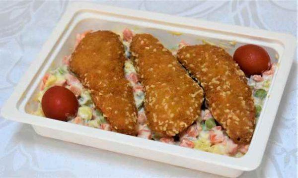 Salata boeuf gujoane pui