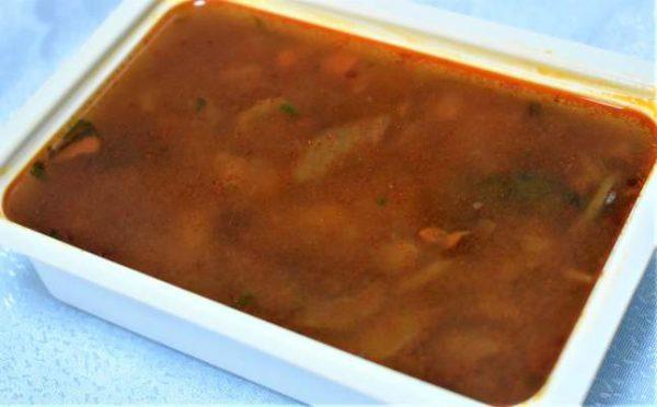 Supa gulas ungureasca ciuperciM