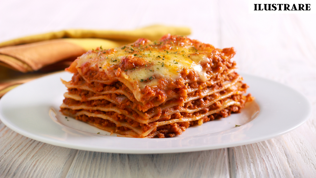 prânz lasagna