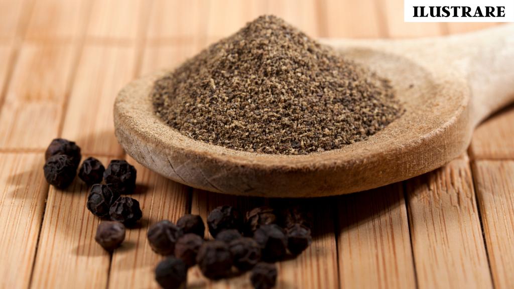 Piperul are efect antioxidant și antibacterian