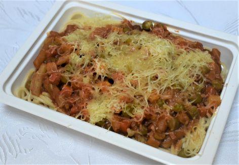 Spaghete legume cascaval afumat
